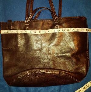 Johnny farah tote leather bag